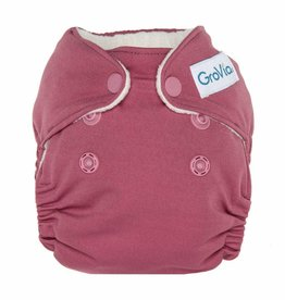 Newborn All in One Cloth Diapers- Petal