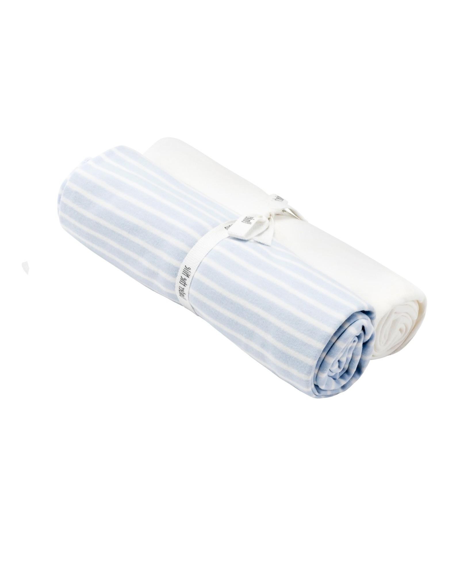 Swaddle Blanket Set, Blue