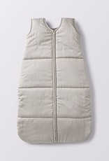 Quilted Sleep Sack- Pale Gray 6-12m