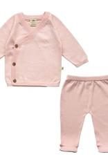 Tiny Twig Kimono 2pc Set- Pink 0-3m