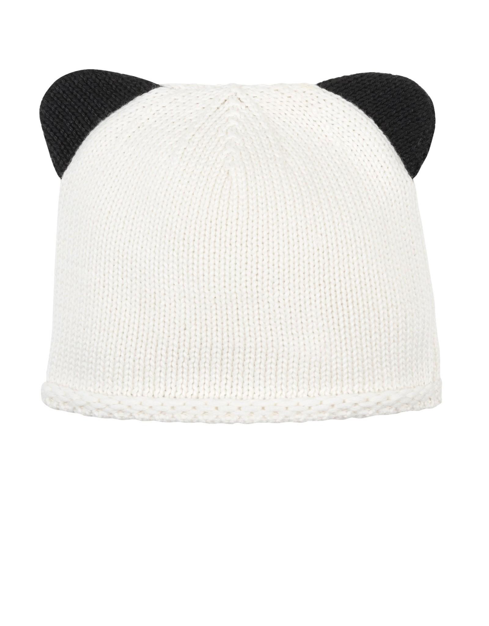 Panda Knit Hat Preemie-Newborn