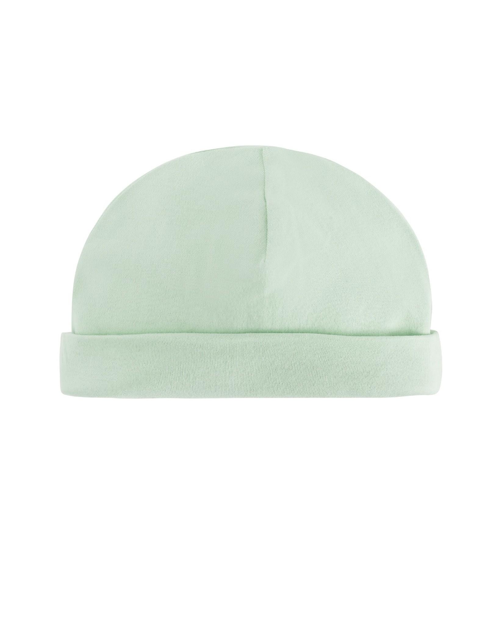 Beanie Cap Green 0-3m