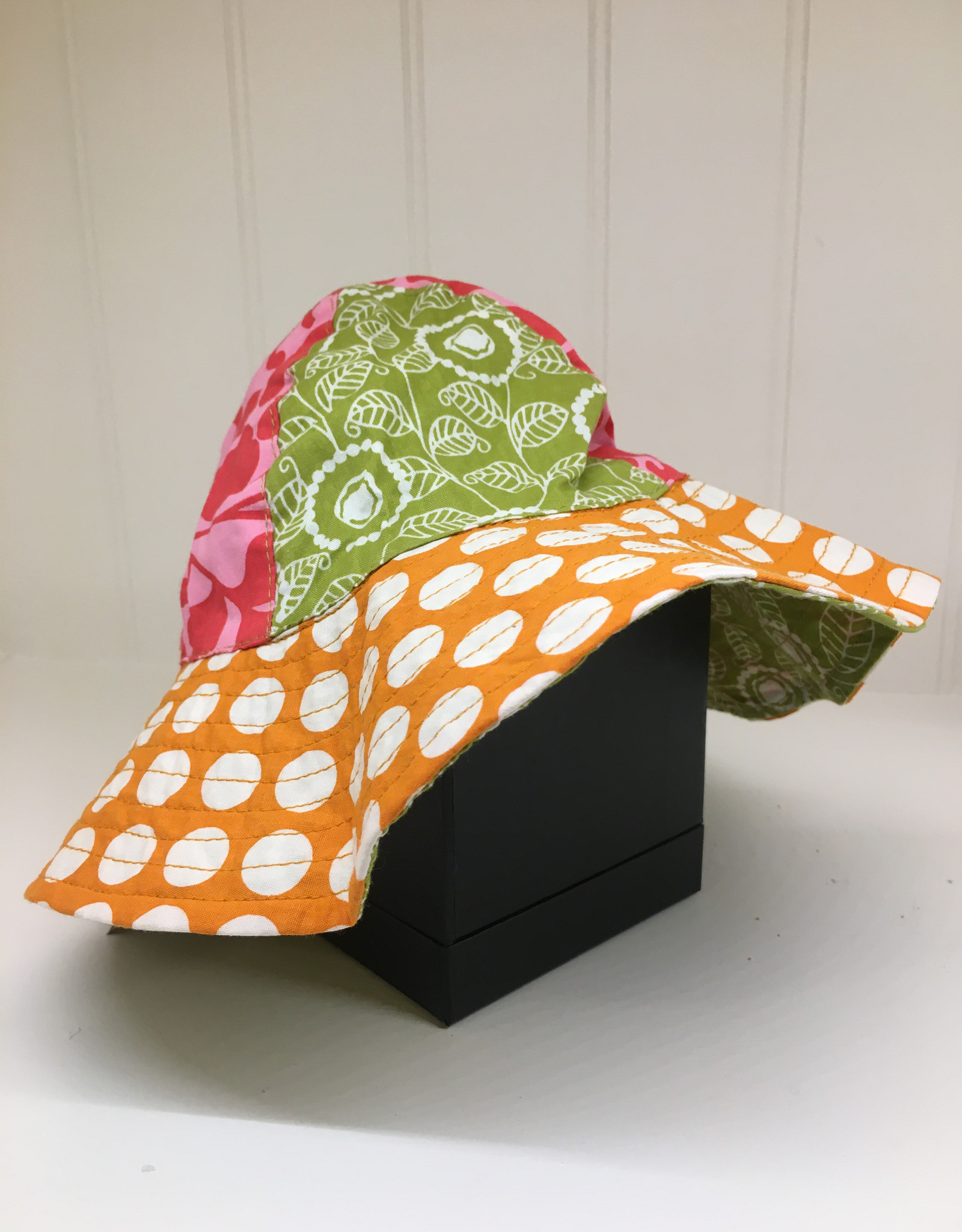 Scrappy Sun Hat- Orange Hat