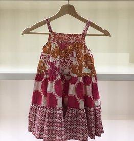 Scrappy Ruffle Dress- 3-4y Option 1