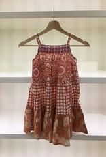 Scrappy Ruffle Dress- 5-6y Option 1