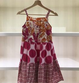 Scrappy Ruffle Dress- 9-11y Option 1