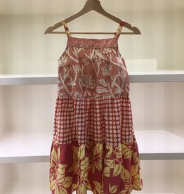 Scrappy Ruffle Dress- 9-11y Option 2