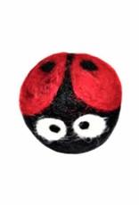 Friendsheep Wool Eco Wool Kitty Ladybug Toy