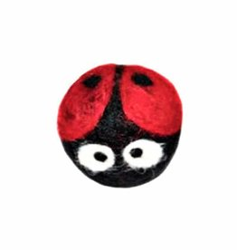 Friendsheep Wool Eco Wool Kitty Ladybug Toy