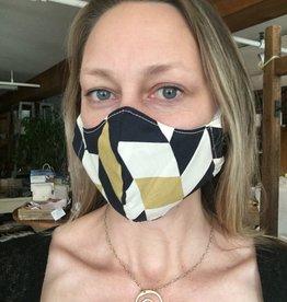 No Trace Santa Cruz Adult Contour Face Mask - Ear Elastics