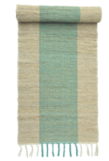 Vetiver Table Runner - Turquoise