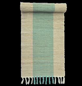 Vetiver Table Runner - Turquoise