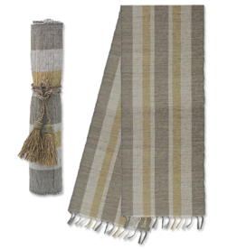 Vetiver Table Runner - Indian Summer