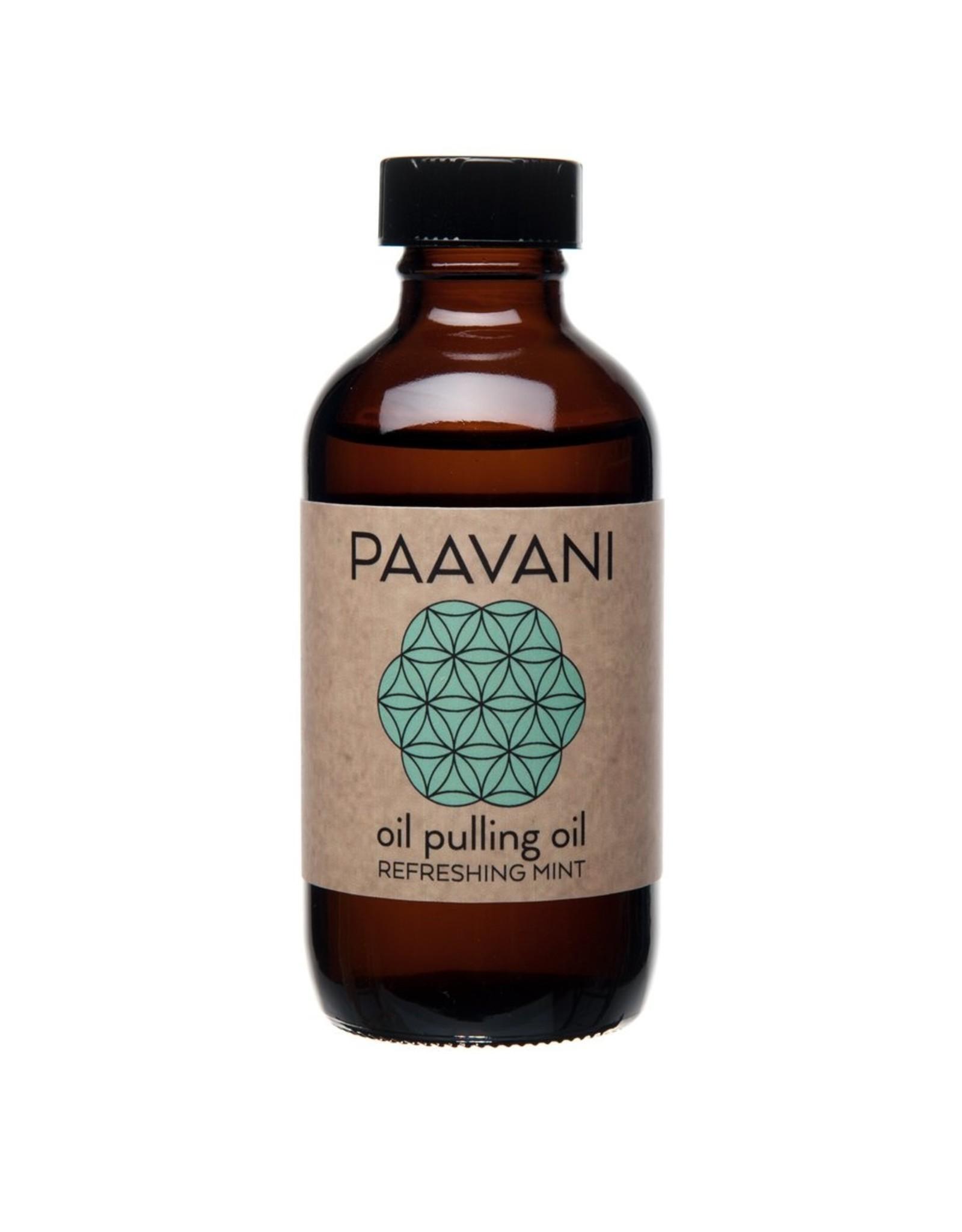 PAAVANI Ayurveda Refreshing Mint Pulling Oil 4oz