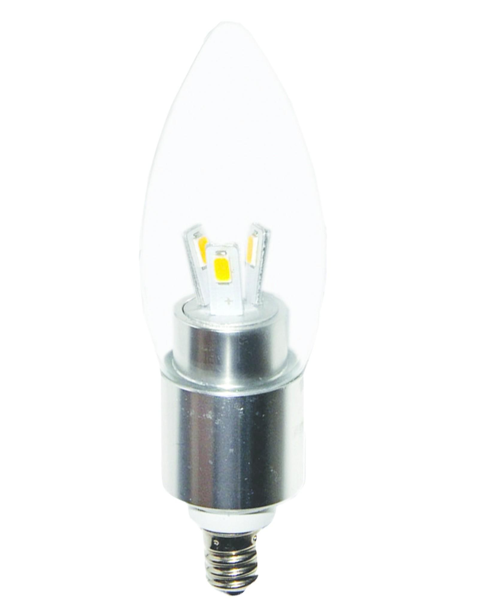 Eangee Candelabra Base LED Bulb (280 Lumen)