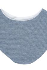 Tiny Twig Sapphire Stripe Bib