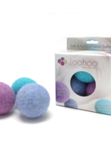 LooHoo Wool Dryer Ball (3 Pack)- Colors