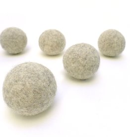 LooHoo Wool Dryer Ball (Single)- Naturals
