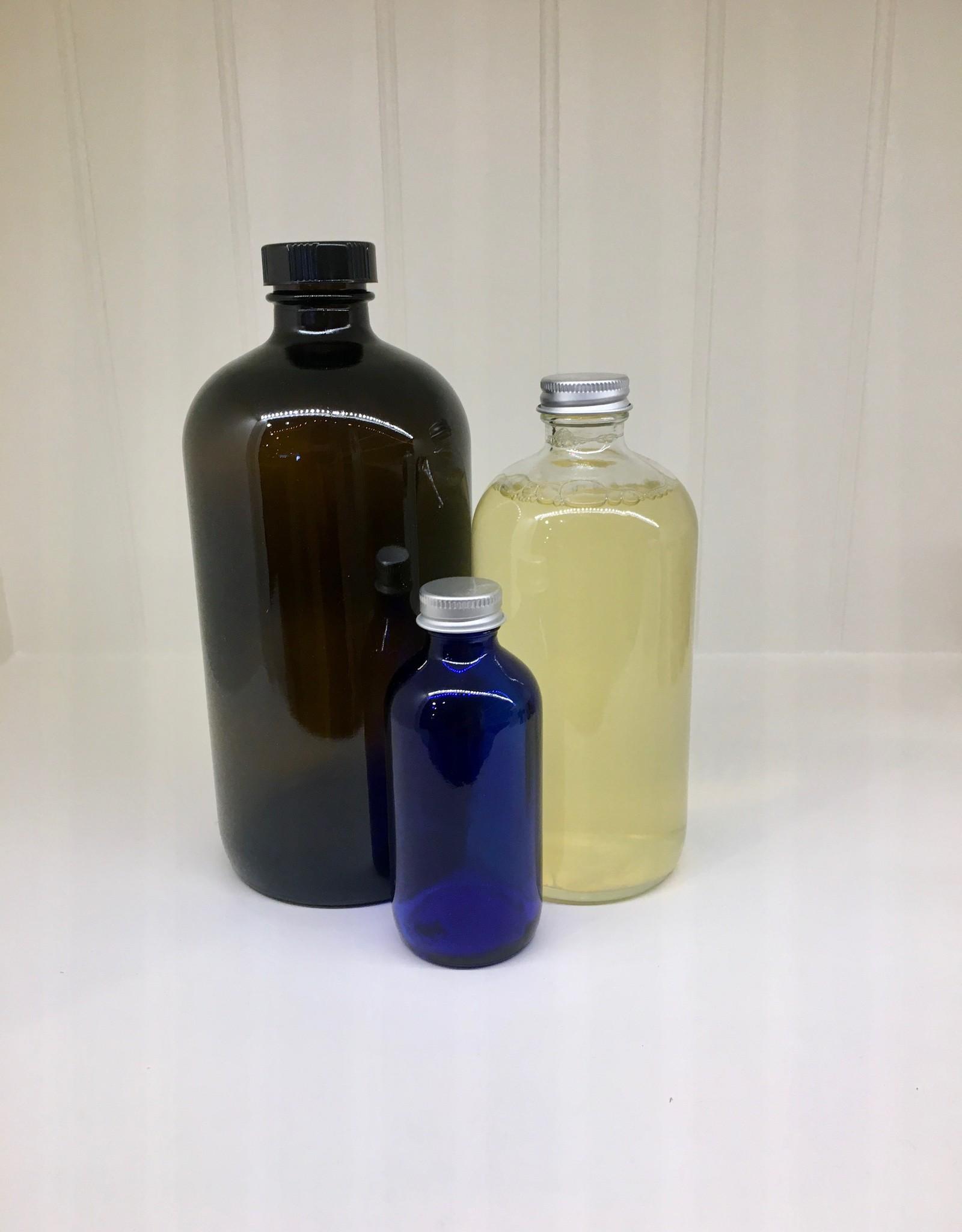 Citrus Dish Soap in Glass Bottle