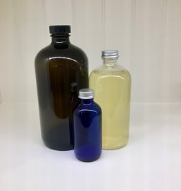 Lavender & Grapefruit Liquid Laundry Soap in Glass Bottle