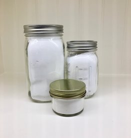 Unscented Powdered Laundry Soap in Glass Jar