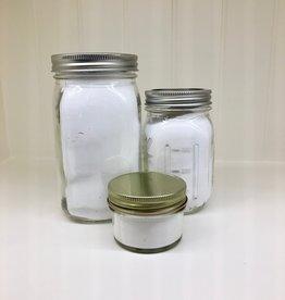 Bath Salts in Glass Jar