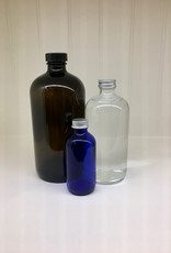 White Vinegar in Glass Bottle
