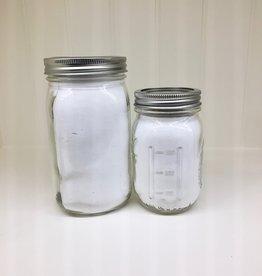 Baking Soda in Glass Jar