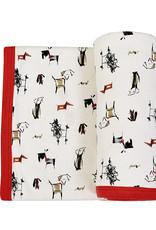 Finn & Emma Dogs Reversible Blanket