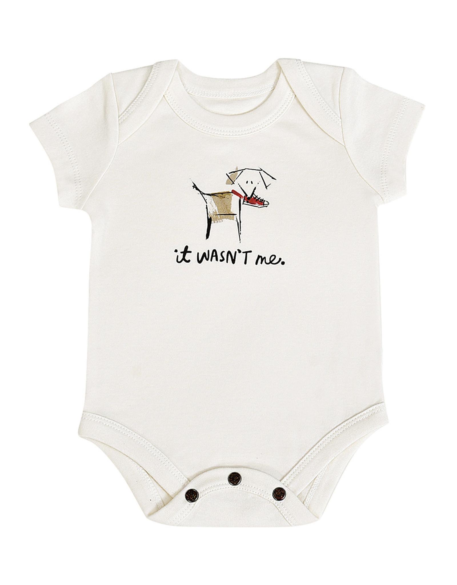 """Finn & Emma Dogs """"Wasn't Me""""  Bodysuit"""