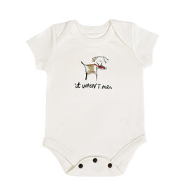 "Finn & Emma Dogs ""Wasn't Me""  Bodysuit"