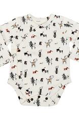 Finn & Emma Dogs Long Sleeve Bodysuit