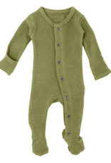 L'oved Baby Thermal Footie Sage