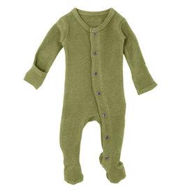 L'oved Baby Thermal Footie Sage