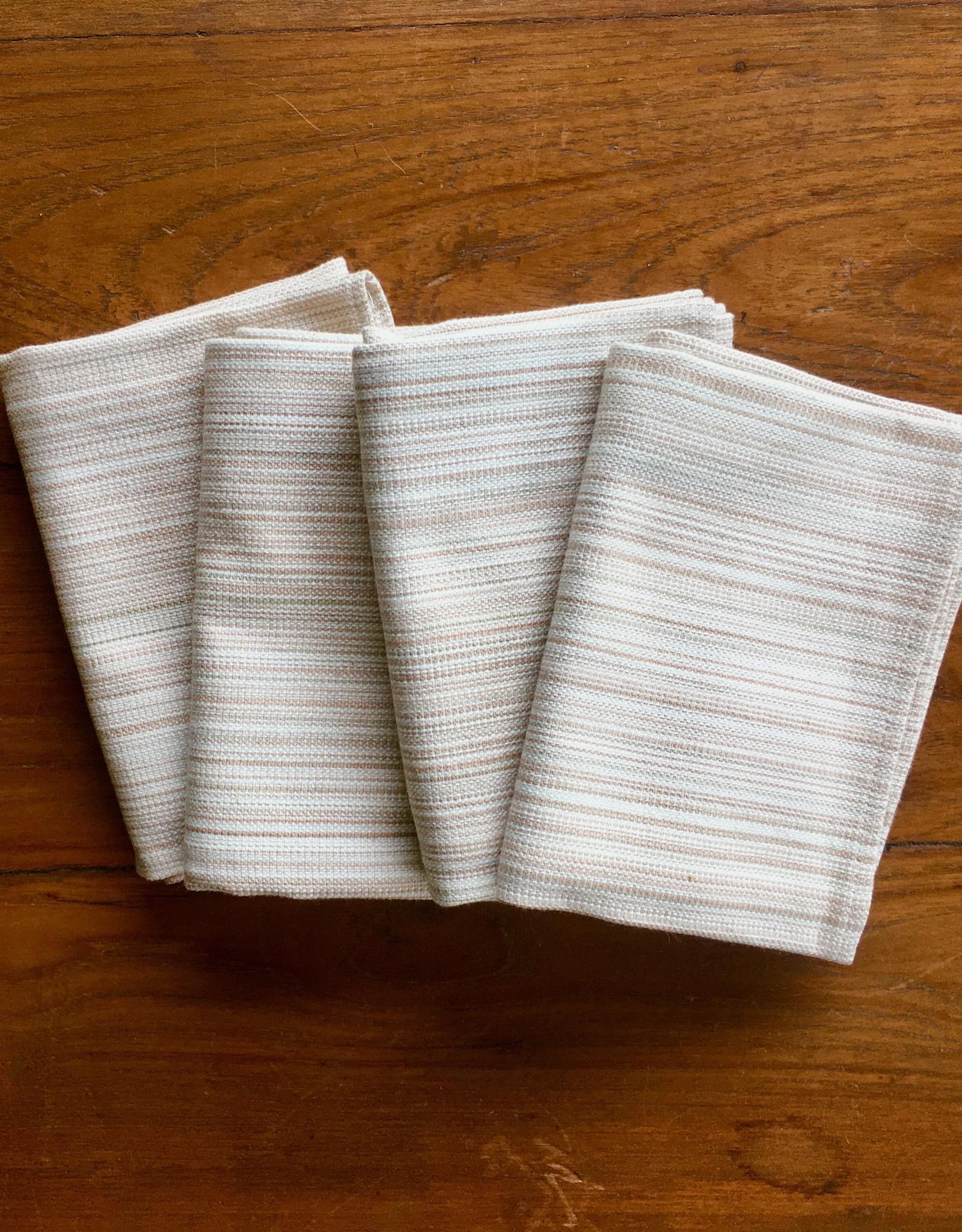 Organic Cotton Napkin Multistripe