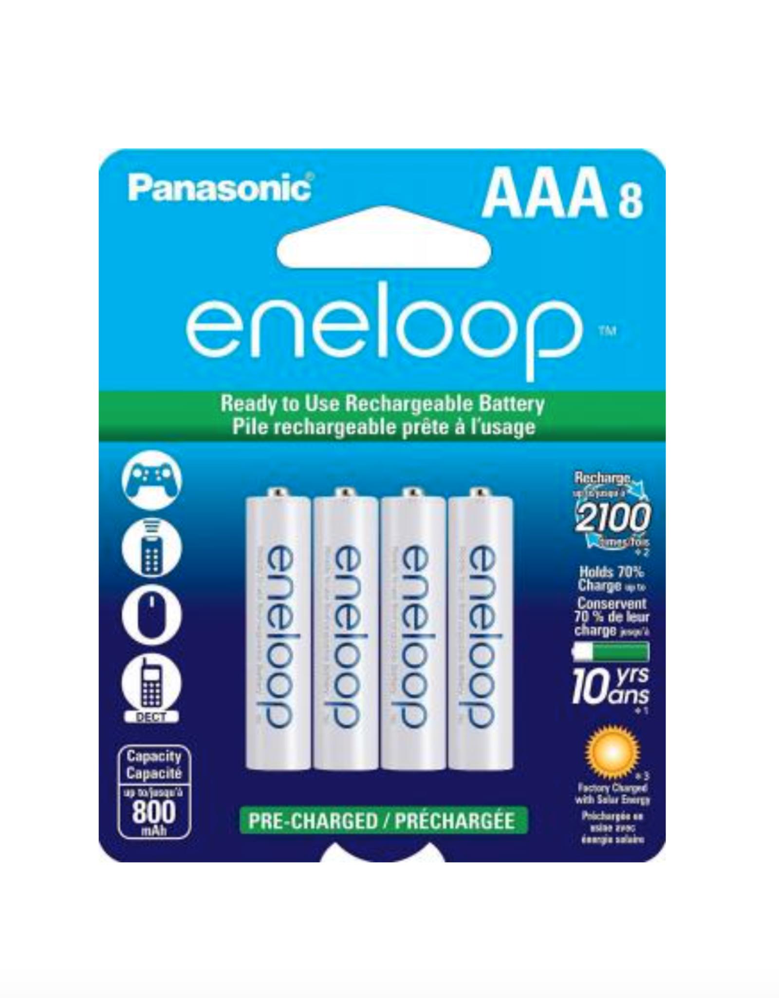 Eneloop AAA Pack of 8