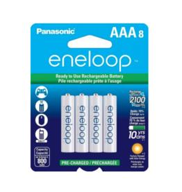 Eneloop AAA 8 Pack of 8