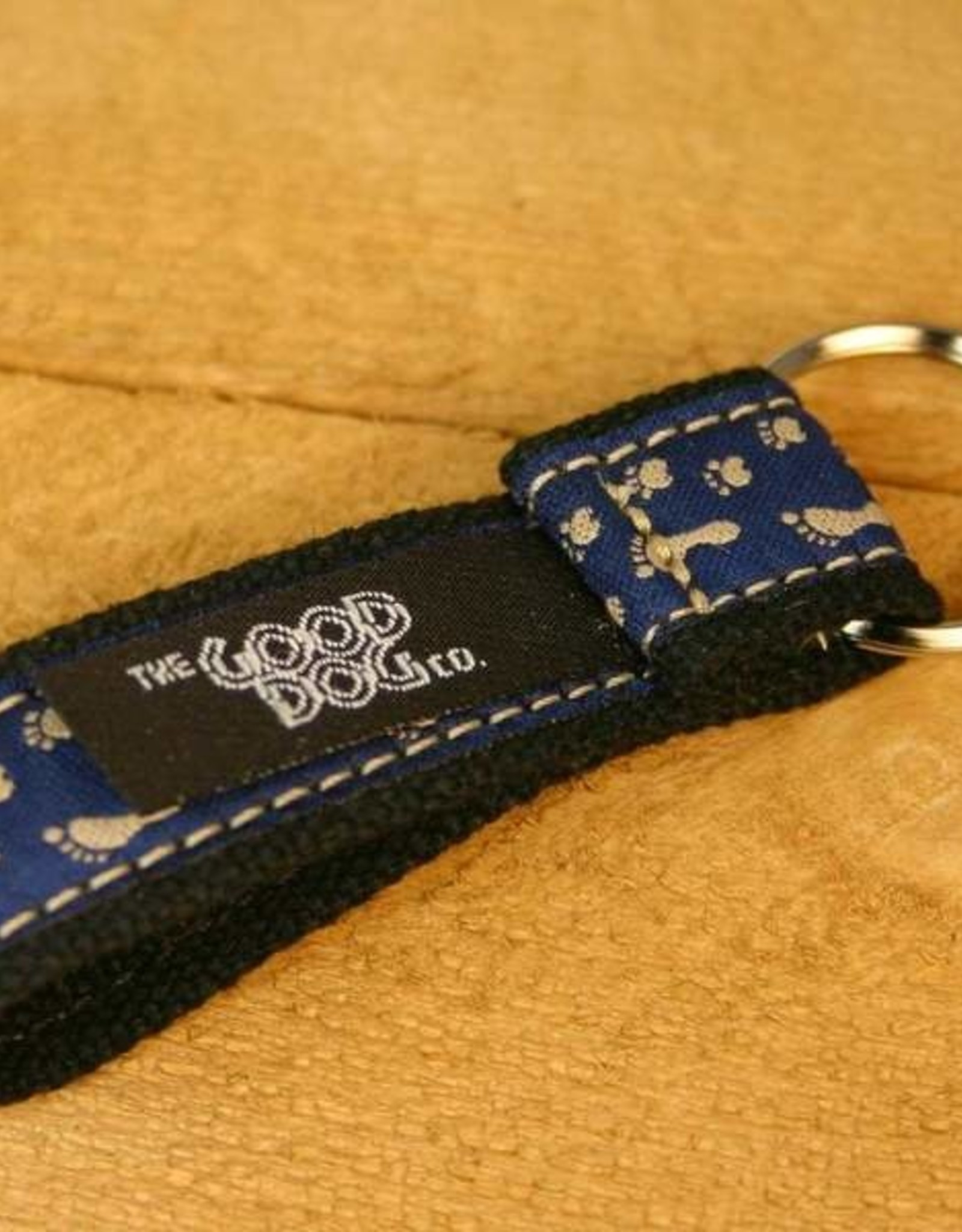 The Good Dog Company Best Friends Keychain Blue Paws
