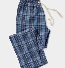 Men's Pajama Pant Blue Plaid Small