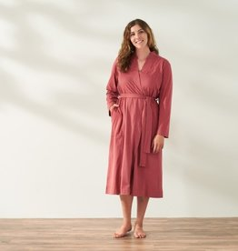 Solstice Relaxed Robe Rosehip
