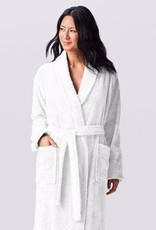 Cloud Loom Robe White