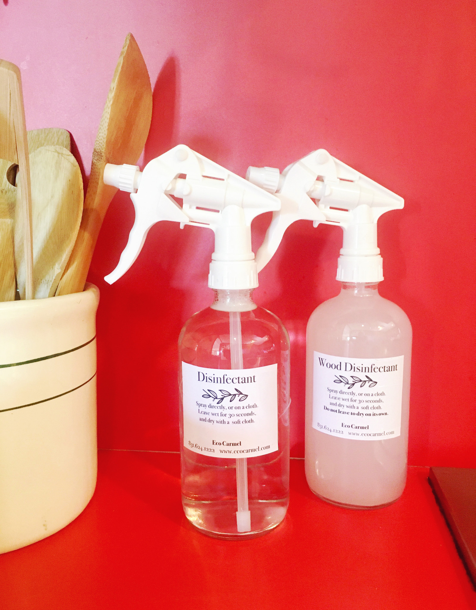 Organic Disinfectant Solution Spray