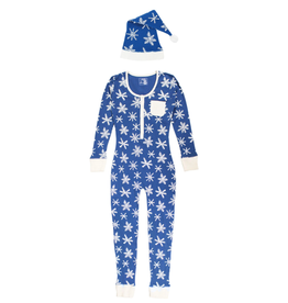 L'oved Baby Snow Ho Ho Women's Onesie with Cap