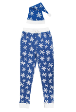 L'oved Baby Snow Ho Ho Men's Holiday Joggers with Cap