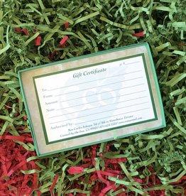 Eco Carmel Gift Certificate