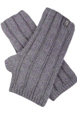Shupaca Alpaca Fingerless Alpaca Gloves - Accordion - Clay