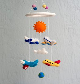 The Winding Road Wool Mobile - Airplane