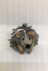 The Winding Road Wool Hedgehog Ornament