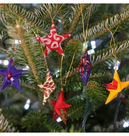 Sari Star Ornament Set