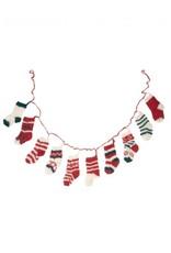 Tiny Stockings Knit Garland